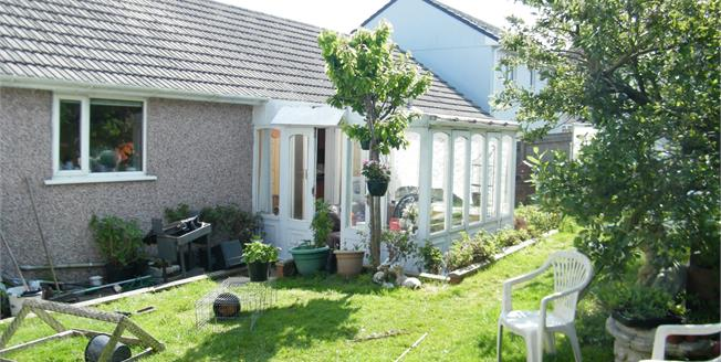 Asking Price £220,000, 3 Bedroom Detached Bungalow For Sale in Crowlas, TR20