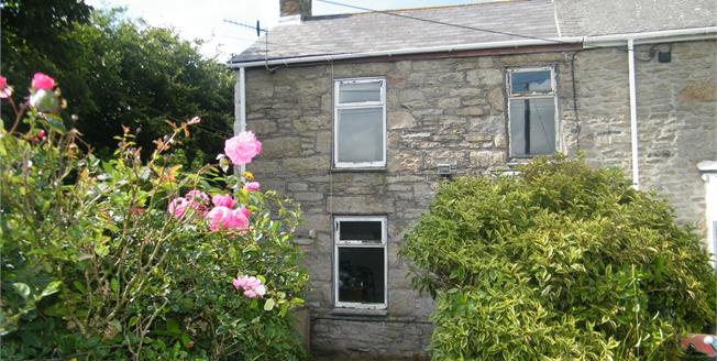 Asking Price £90,000, 1 Bedroom End of Terrace Cottage For Sale in Pendeen, TR19