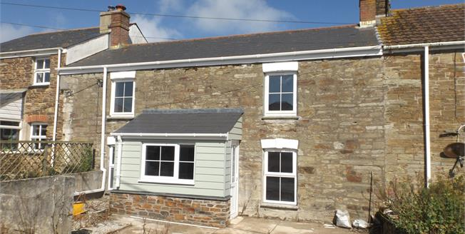 Guide Price £290,000, 3 Bedroom Terraced Cottage For Sale in Goonbell, TR5