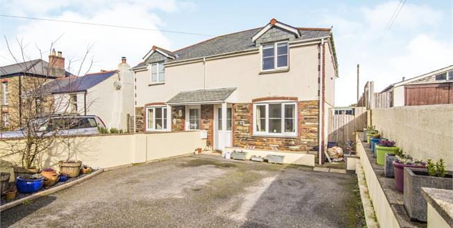 Guide Price £330,000, 3 Bedroom Semi Detached House For Sale in Goonown, TR5