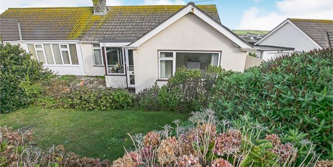 Guide Price £325,000, 4 Bedroom Semi Detached Bungalow For Sale in Perranporth, TR6