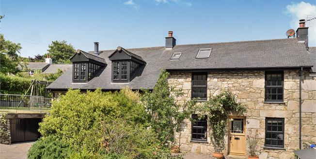 Offers in excess of £625,000, 4 Bedroom Semi Detached Cottage For Sale in St. Ives, TR26
