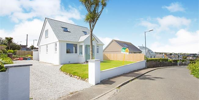 Asking Price £425,000, 3 Bedroom Detached Bungalow For Sale in St. Ives, TR26