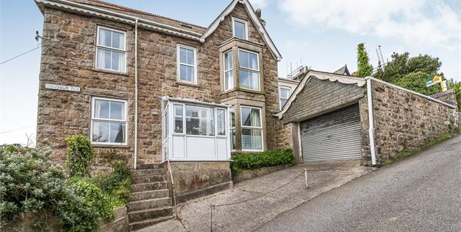 Offers in excess of £650,000, 5 Bedroom End of Terrace House For Sale in St. Ives, TR26