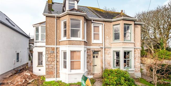 Guide Price £425,000, 4 Bedroom Semi Detached House For Sale in Carbis Bay, TR26