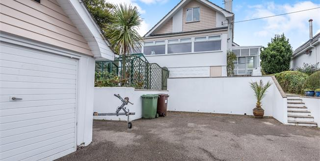 Asking Price £490,000, 4 Bedroom Detached Bungalow For Sale in Carbis Bay, TR26
