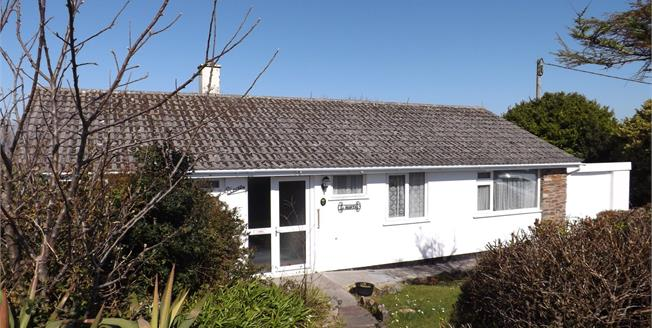 Asking Price £295,000, 3 Bedroom Detached Bungalow For Sale in Carbis Bay, TR26