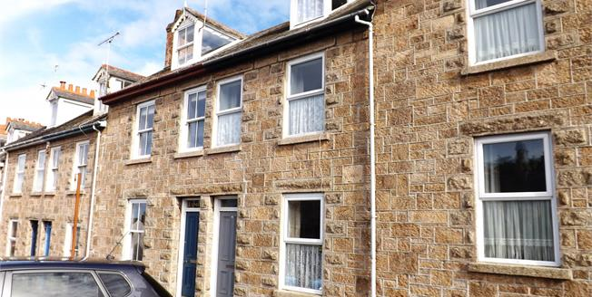 Asking Price £300,000, 3 Bedroom Terraced House For Sale in St. Ives, TR26