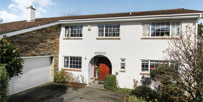 Asking Price £419,950, 4 Bedroom Detached House For Sale in Carlyon Bay, PL25