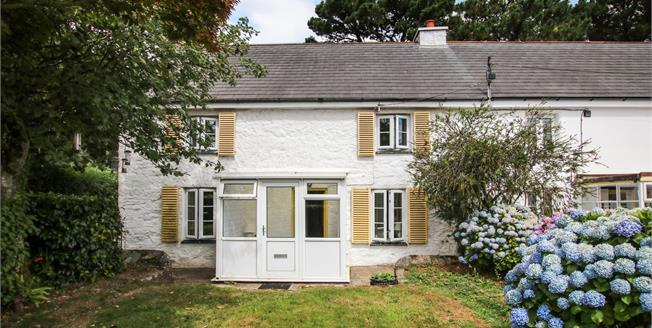 Offers in excess of £290,000, 3 Bedroom Semi Detached Cottage For Sale in Hewas Water, PL26