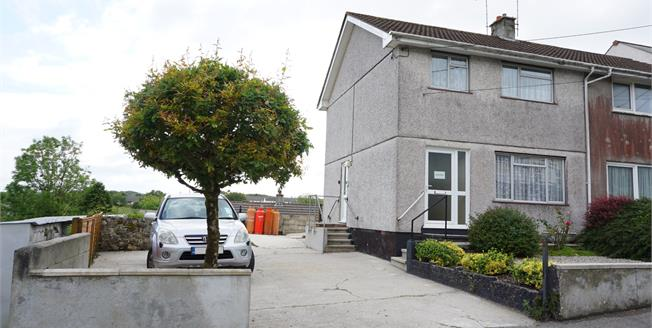 Asking Price £150,000, 3 Bedroom Semi Detached House For Sale in Nanpean, PL26