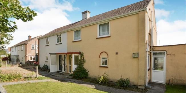 Asking Price £200,000, 3 Bedroom Semi Detached House For Sale in Torpoint, PL11
