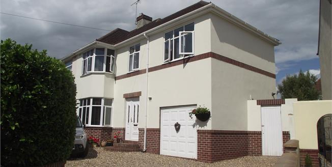 Asking Price £350,000, 4 Bedroom Semi Detached House For Sale in Torquay, TQ2