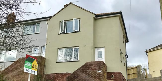 Asking Price £165,000, 2 Bedroom House For Sale in Torquay, TQ2