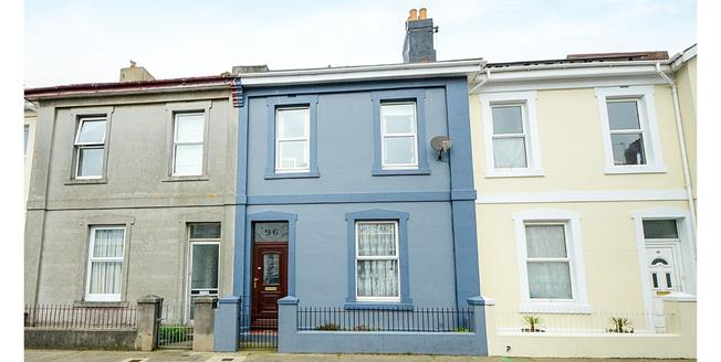 Asking Price £185,000, 4 Bedroom Terraced House For Sale in Torquay, TQ1