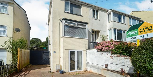 Guide Price £150,000, 2 Bedroom End of Terrace House For Sale in Devon, TQ2