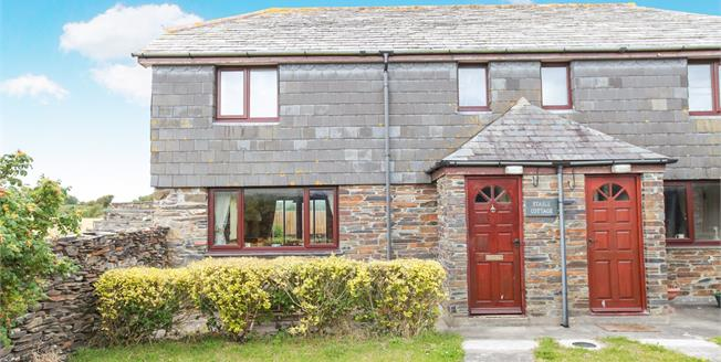 Guide Price £220,000, 2 Bedroom Semi Detached House For Sale in St. Minver, PL27