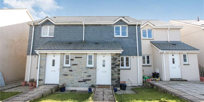 Asking Price £66,000, 2 Bedroom Terraced House For Sale in St. Merryn, PL28
