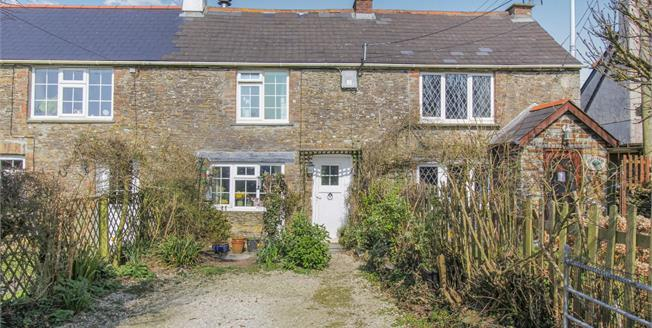Guide Price £230,000, 2 Bedroom Terraced Cottage For Sale in St. Eval, PL27