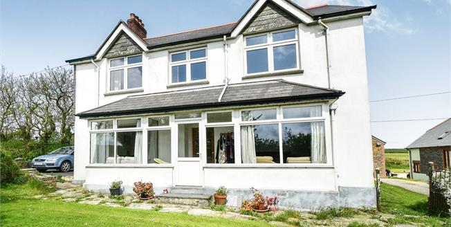 Offers in excess of £415,000, 5 Bedroom Detached House For Sale in Cornwall, PL35