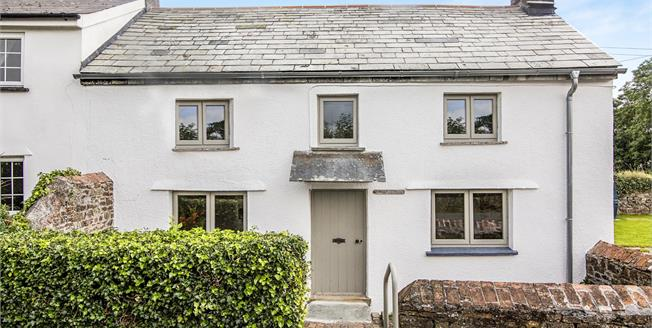 Guide Price £260,000, 3 Bedroom Semi Detached Cottage For Sale in Egloskerry, PL15