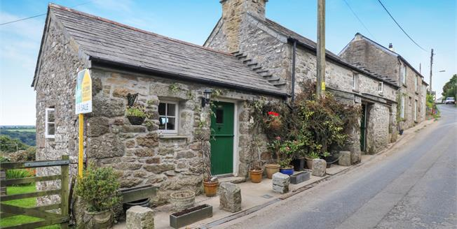 Offers in the region of £170,000, 1 Bedroom Semi Detached Cottage For Sale in St. Breward, PL30