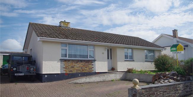 Guide Price £295,000, 3 Bedroom Detached Bungalow For Sale in Wadebridge, PL27