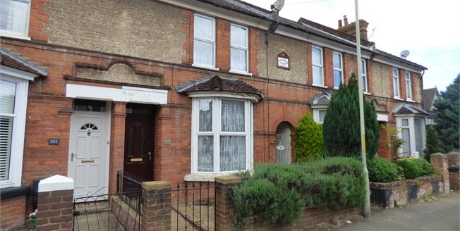 Offers Over £220,000, 3 Bedroom Terraced House For Sale in Ashford, TN23
