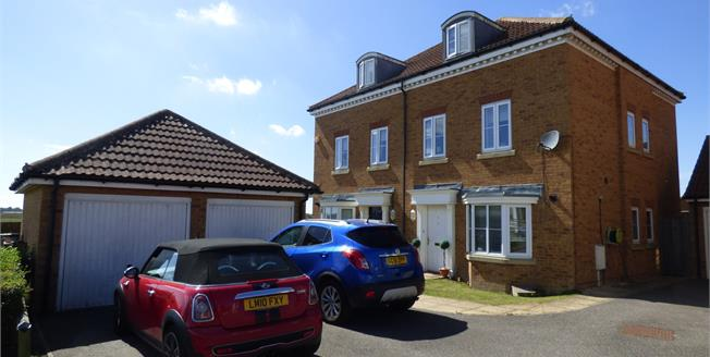 Offers Over £299,995, 3 Bedroom Semi Detached House For Sale in Kingsnorth, TN23