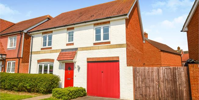 Guide Price £350,000, 4 Bedroom Detached House For Sale in Kingsnorth, TN23