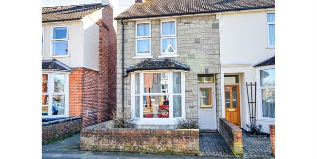 Guide Price £240,000, 3 Bedroom Semi Detached House For Sale in Ashford, TN23
