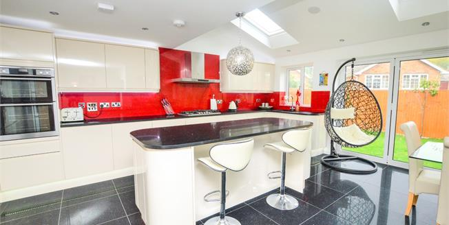 Guide Price £425,000, 4 Bedroom Semi Detached House For Sale in Ashford, TN24