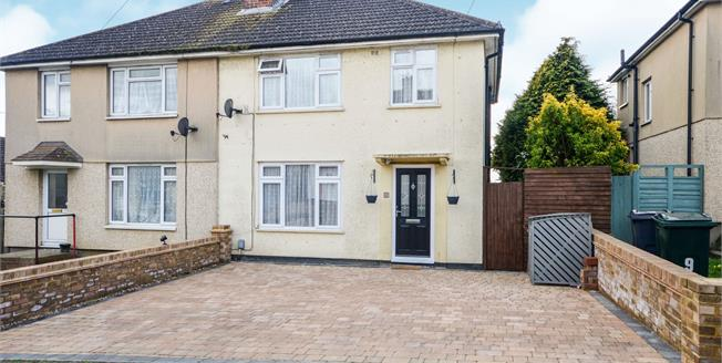 Guide Price £260,000, 3 Bedroom Semi Detached House For Sale in Ashford, TN23