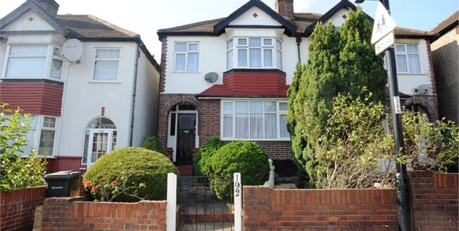 Guide Price £475,000, 3 Bedroom End of Terrace House For Sale in London, SE6