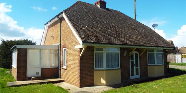 Guide Price £375,000, 2 Bedroom Detached Bungalow For Sale in Broad Oak, CT2
