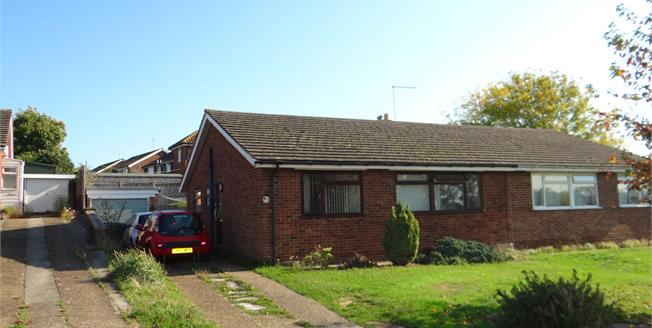 Guide Price £250,000, 3 Bedroom Semi Detached Bungalow For Sale in Sturry, CT2