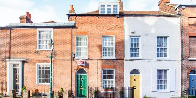 Guide Price £400,000, 2 Bedroom Terraced House For Sale in Canterbury, CT1