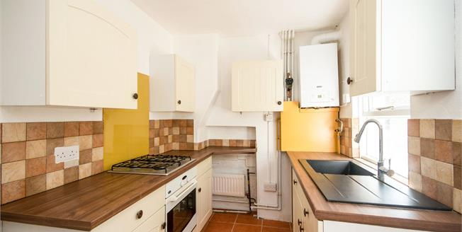 Guide Price £200,000, 2 Bedroom Semi Detached House For Sale in Canterbury, CT1