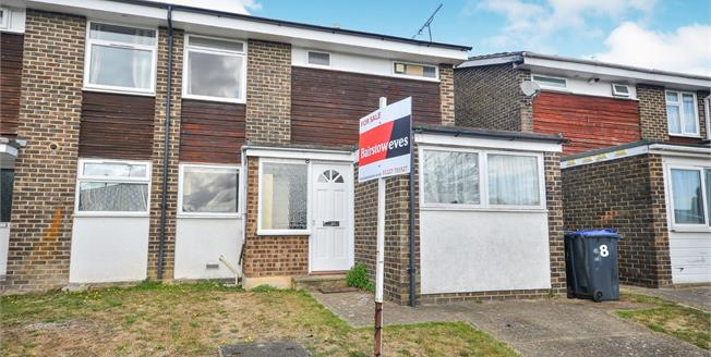 Asking Price £260,000, 3 Bedroom Semi Detached House For Sale in Canterbury, CT2