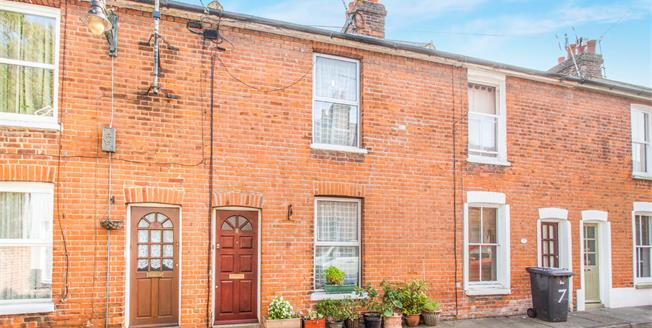 Guide Price £270,000, 2 Bedroom Terraced House For Sale in Canterbury, CT1