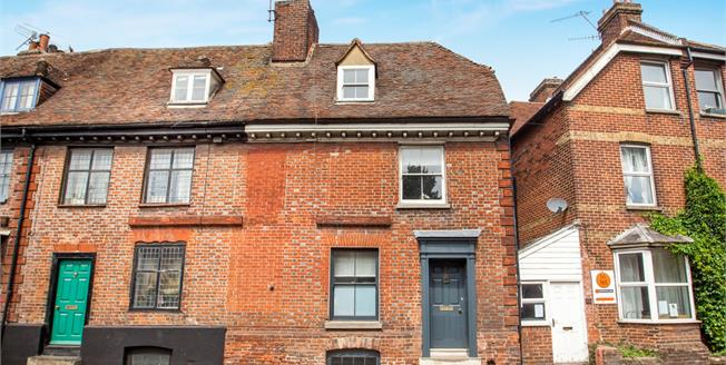 Guide Price £325,000, 4 Bedroom Terraced House For Sale in Canterbury, CT1