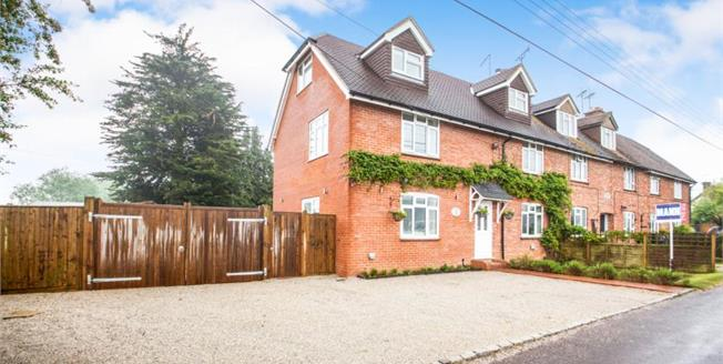 Guide Price £425,000, 4 Bedroom End of Terrace House For Sale in Molash, CT4