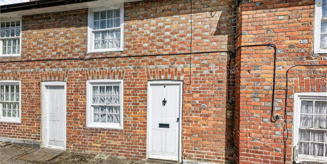 Guide Price £200,000, 2 Bedroom Terraced Cottage For Sale in Petham, CT4