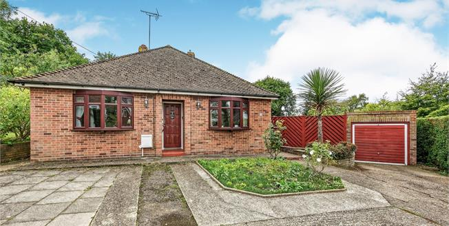 Guide Price £450,000, 3 Bedroom Detached Bungalow For Sale in Tyler Hill, CT2