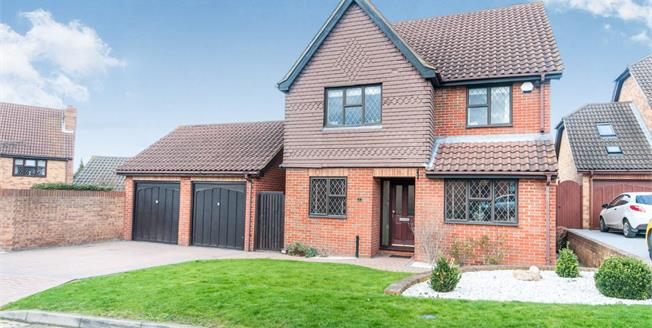 Asking Price £550,000, 4 Bedroom Detached House For Sale in Greenhithe, DA9