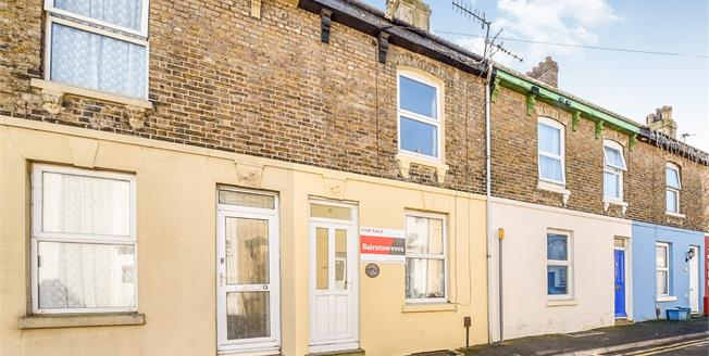 Asking Price £130,000, 2 Bedroom Terraced House For Sale in Dover, CT17