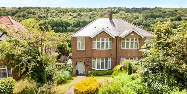 Guide Price £225,000, 3 Bedroom Semi Detached House For Sale in Dover, CT17