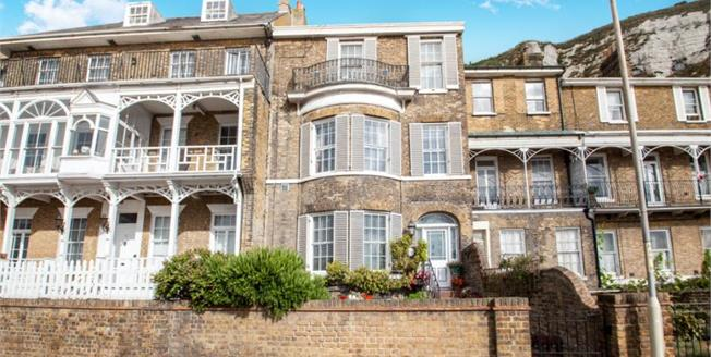 Guide Price £440,000, 4 Bedroom Terraced House For Sale in Dover, CT16