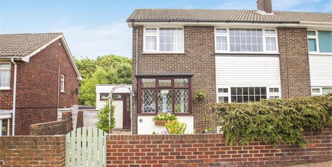 Guide Price £240,000, 3 Bedroom Semi Detached House For Sale in Dover, CT17