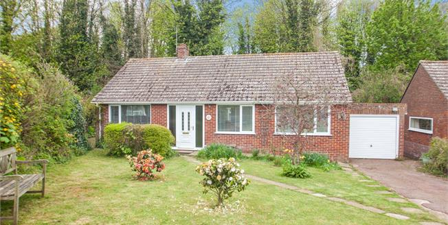 Guide Price £300,000, 3 Bedroom Detached Bungalow For Sale in Martin Mill, CT15